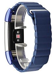 Недорогие -ремешок для часов для FitBit заряда 2 ремешок из натуральной кожи