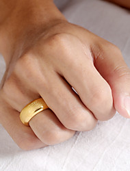 cheap -Men's Band Ring Ring 1pc Gold Stainless Steel 14K Gold Plated Stylish Luxury Trendy Party Daily Jewelry Classic Precious Angel Wings