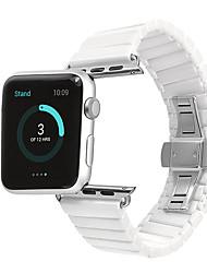 Недорогие -Ремешок для часов для Apple Watch Series 4/3/2/1 Apple Бабочка Пряжка Керамика Повязка на запястье