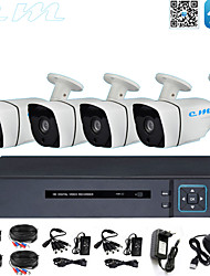 cheap -8CH Monitoring Equipment Set Ahd Coaxial HD Shop Monitor 1080P DVR Mobile Phone Remote