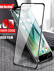 cheap -6d glass on the for iphone 6 6s plus 8 7 x full screen protector for iphone 7 8 plus 5 5s se aluminum alloy tempered glass