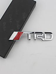 Недорогие -3d гоночный металлический стикер авто эмблема значок наклейка для Toyota Camry