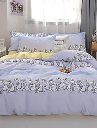 abordables -Ensembles housse de couette camouflage / Bande dessinée Polyester / Polyamide Imprimé 4 PiècesBedding Sets