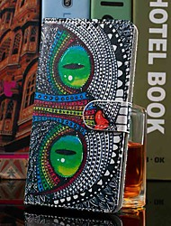 cheap -Case For Samsung Galaxy S10 Plus / Galaxy S10 E Wallet / Card Holder / with Stand Full Body Cases Green Eye Owl PU Leather for Galaxy S7 / S7 Edge / S8 / S8 Plus / S9 / S9 Plus / S10