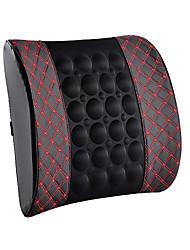 Недорогие -поясничная опора для автомобиля 12v электрическая массажная подушка поясничная подушка для автокресла