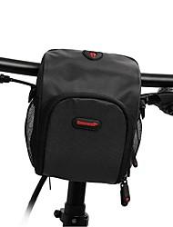 cheap -RHINOWALK Bike Handlebar Bag Cycling Backpack 6 inch Portable Cycling for iPhone 8/7/6S/6 Black Red Brown Mountain Bike / MTB Road Bike Road Cycling