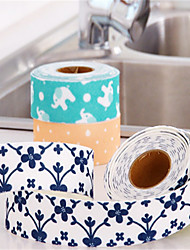 cheap -Caulking Tape Flexible Self Adhesive Sealing Strip Waterproof  Repair Tape for Kitchen Bathroom Tub Shower Floor Wall Edge Protector Mildew Sealing