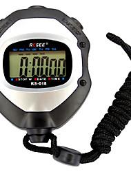 cheap -Men's Women's Sport Watch Stopwatch Japanese Digital Black 30 m Luminous Alarm Clock Stopwatch Digital Outdoor New Arrival - Black Two Years Battery Life / Large Dial