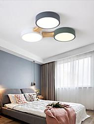 cheap -1-Light 47 cm Flush Mount Lights Acrylic Novelty Painted Finishes LED / Modern 110-120V / 220-240V