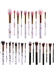 cheap -Professional Makeup Brushes 10pcs Soft New Design Full Coverage Lovely Comfy Plastic for Makeup Set Makeup Tools Makeup Brushes Blush Brush Foundation Brush Makeup Brush Lip Brush Eyeshadow Brush