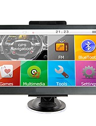 cheap -7 inch Car GPS Navigation Sat Nav 256 RAM/8GB Bluetooth AV-IN FM Transmitter Bundle Free New Maps