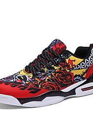 cheap -Men's Comfort Shoes Mesh Fall / Fall & Winter Sporty / Casual Athletic Shoes Basketball Shoes / Fitness & Cross Training Shoes Non-slipping Black / Red / Black / Blue / Black / Yellow / Wear Proof