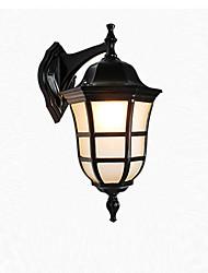 Недорогие -Водонепроницаемый Современный современный Внешние настенные светильники На открытом воздухе / Сад Металл настенный светильник IP 65 110-120Вольт / 220-240Вольт