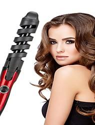 cheap -Hair Curler Electric Spiral Barrel Hair Curling Iron Wand Salon Hair Styling Tool