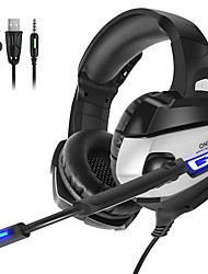 cheap -LITBest K5-Single Gaming Headset Wired Gaming Stereo with Microphone with Volume Control