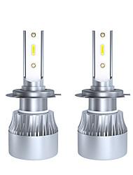 cheap -2pcs H7 Car Light Bulbs 30 W LED Headlamps For universal All years