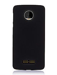 cheap -Phone Case For Motorola Back Cover MOTO One Vision Moto E5 Play Moto E5 Moto C plus Ultra-thin Solid Color TPU