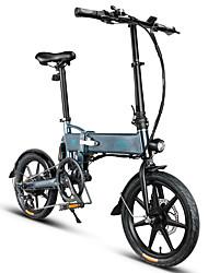 Недорогие -fiido d2s складной электрический мопед с переключением передач версия городской велосипед пригородный велосипед e-bike 16-дюймовые шины 250 Вт мотор макс. 25 км / ч