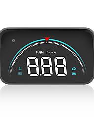 cheap -3.5inch Car OBD2 Head Up Display OBD Hud Digital Speedometer Colorful Windshield Projector