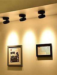 cheap -1pc 10W Ultrathin LED Ceiling Light Under Cabinet Lighting Downlight 360 degrees Rotational Function  Surface Mounted LED Lighting Fixtures 85-265V