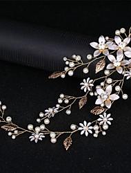 cheap -Alloy Headbands with Crystal / Rhinestone / Pearls / Flower 1 Piece Wedding Headpiece
