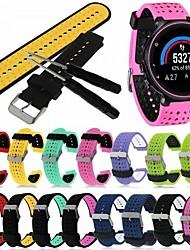 cheap -Watch Band for Forerunner 735 / Forerunner 630 / Forerunner 620 Garmin Classic Buckle / DIY Tools Silicone Wrist Strap