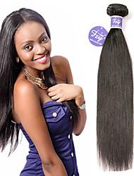 cheap -3 Bundles Brazilian Hair Straight Unprocessed Human Hair 100% Remy Hair Weave Bundles Natural Color Hair Weaves / Hair Bulk Extension Bundle Hair 8-28 inch Natural Human Hair Weaves