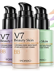 cheap -BIOAQUA V7 lazy Lotion Cream Natural Moisturizing Makeup Concealer Foundation Waterproof BB CC Cream Concealer MakeUp Skin Care
