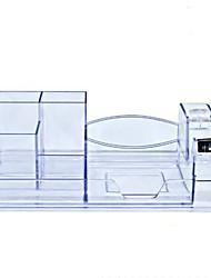 cheap -Plastics Generic Home Organization, 1 pc Pen Holders & Cases / Desktop Organizers
