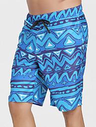 cheap -Men's Swim Shorts Elastane Bottoms UV Sun Protection Quick Dry Swimming Surfing Painting Summer