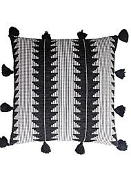 cheap -3 pcs Velvet Pillow Cover, Color Block Casual Throw Pillow