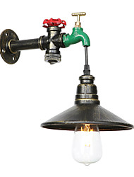 Недорогие -Творчество / труба Ретро / Традиционный / классический Настенные светильники Столовая / кафе Металл настенный светильник 110-120Вольт / 220-240Вольт