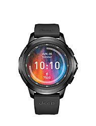 cheap -AFSJeep jeep HY-WS02 Men Smartwatch Android iOS WIFI Bluetooth Waterproof Touch Screen GPS Heart Rate Monitor Blood Pressure Measurement ECG+PPG Timer Stopwatch Pedometer Call Reminder