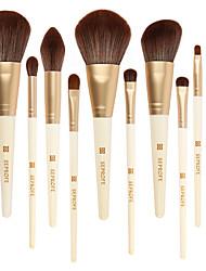 abordables -Professionnel Pinceaux à maquillage 12 pcs Doux Design nouveau Adorable Bois / bambou pour Pinceau de maquillage