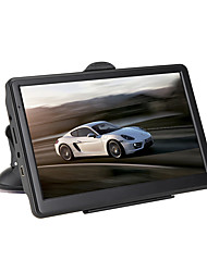 cheap -7inch HD RAM 256MB ROM 8G Car GPS Navigator Touch Screen for universal MicroUSB Support AVI / MPG / DAT MP3 / WMA / WAV JPEG / GIF / BMP
