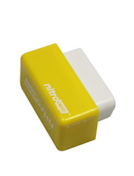 cheap -Outzone Nitro OBD2 Performance Chip Plug and Drive Tuning Power Box for Gasoline Petrol Car Yellow - More 35% Power and 25% Torque 2PCB Yellow