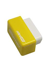 Недорогие -Outzone NITRO OBD2 Производительность чип-штекер и настройка привода блок питания для бензина бензиновый автомобиль желтый - более 35% мощности и 25% крутящего момента 2шт желтый
