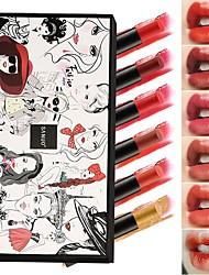 abordables -1 pcs 6 couleurs Design Tendance / Facile à transporter Humide Longue Durée / Girlfriend cadeaux / Décontracté / Quotidien Doux / Mode Maquillage Cosmétique Accessoires de Toilettage