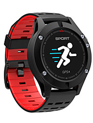 Недорогие -Смарт-часы f5 GPS-позиционирование Режим мульти-движения Счетчик сердечного ритма Шаг измерения температуры окружающей среды Высота Bluetooth 4.2