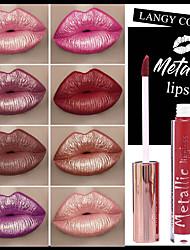 abordables -smakup nouveau métal antiadhésif tasse lipgloss liquide rouge à lèvres mat brillant à lèvres glaçure pour les lèvres maquillage larga duracin rouge à lèvres mis batom make