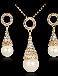 cheap -Women's Bridal Jewelry Sets Geometrical Drop Stylish Earrings Jewelry Gold For Party Daily 1 set