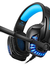 cheap -KOTION EACH G9100 Gaming Headphones with Light Microphone Stereo Deep Bass Headphone for PC Computer Gamer Laptop Wired Headset