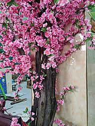 Недорогие -23.6 (в) букет из высоких персиков / искусственный цветок 10 букетов / классический современный садовый стиль растение постоянный цветок настольный цветок