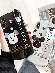cheap -Case For Apple iPhone XS / iPhone XR / iPhone XS Max Dustproof / IMD Back Cover Food Soft TPU