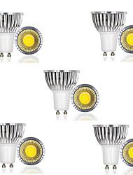 cheap -10pcs 3 W LED Spotlight 250 lm GU10 1 LED Beads COB Decorative Warm White Cold White 85-265 V