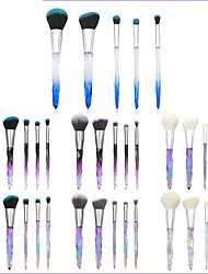 cheap -Professional Makeup Brushes 5pcs Professional Soft New Design Sexy Lady Comfy Plastic for Makeup Brush