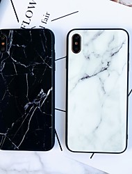 cheap -Case For Apple iPhone XS / iPhone XR / iPhone XS Max Mirror / Ultra-thin Back Cover Marble TPU