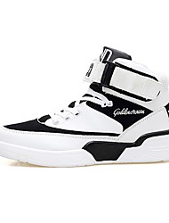 cheap -Men's Comfort Shoes PU Fall & Winter Athletic Shoes Basketball Shoes Black / White / Blue