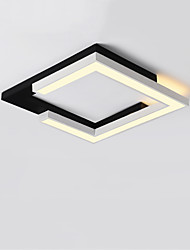 cheap -CONTRACTED LED® Linear / Geometrical Flush Mount Lights Downlight Painted Finishes Metal LED, New Design 110-120V / 220-240V Warm White / White