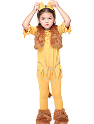 cheap -Cat Cosplay Costume Halloween Props Party Costume Masquerade Costume Kid's Girls' Halloween Halloween School Festival Halloween Children's Day Masquerade Festival / Holiday Other Material Polyster